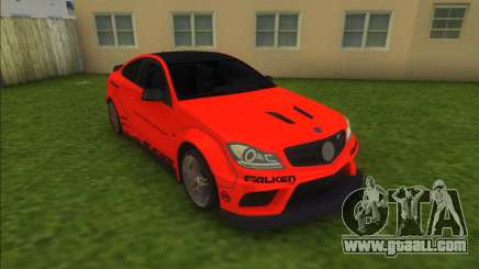 Mercedes-Benz C63 AMG Black Series Coupe for GTA Vice City