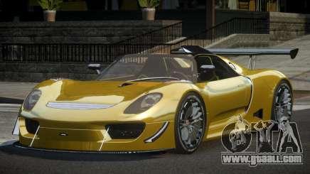 Porsche 918 PSI Racing for GTA 4