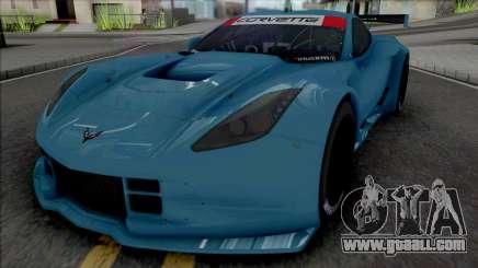 Chevrolet Corvette C7R GTE (SA Lights) for GTA San Andreas