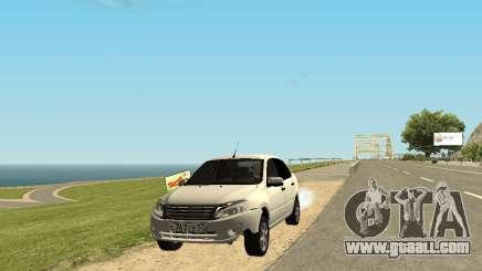Lada Granta Sedan 53RUS for GTA San Andreas