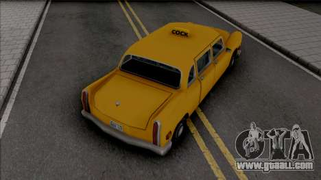 James Mays Approved Cabbie for GTA San Andreas