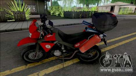 Yamaha XT600 CBMERJ (Improved) for GTA San Andreas