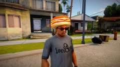 Burger Shot Employee Hat for GTA San Andreas