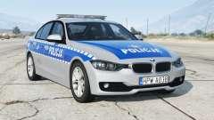 BMW 330i (F30) 2012〡Polish Police [ELS] add-on for GTA 5