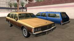 Oldsmobile Custom Cruiser 1980 Wooden body for GTA San Andreas