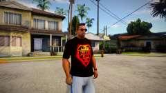 T-shirt Rammstein for GTA San Andreas
