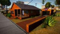 Big Smoke House (good mod) for GTA San Andreas