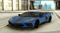 Chevrolet Corvette C8 2020 GR Plate for GTA San Andreas