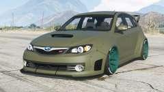 Subaru Impreza WRX STI Widebody (GRB) 2008〡add-on for GTA 5