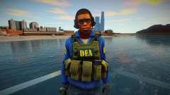 Retexture CS Skin to be a DEA for GTA San Andreas