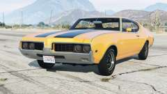Oldsmobile 442 Holiday Coupe (4487) 1969〡add-on for GTA 5