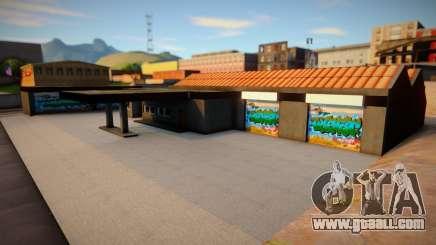 Garage in San Fierro for GTA San Andreas