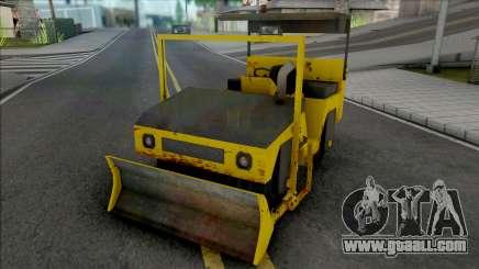 CAT Rodillo Compactador Con Topadora for GTA San Andreas