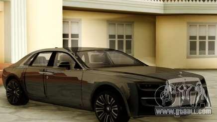 Rolls Royce Ghost 2021 for GTA San Andreas