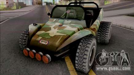 GTA Gorillaz 19-2000 for GTA San Andreas