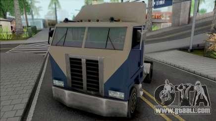 Peterbilt 362 4x2 for GTA San Andreas