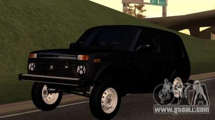 Vaz (Lada) Niva 90-HX-242 for GTA San Andreas