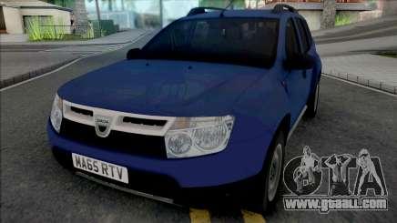 Dacia Duster 2012 UK for GTA San Andreas