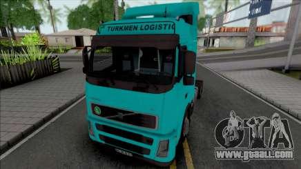 Volvo FH12 440 Turkmen Logistic for GTA San Andreas