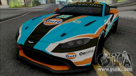 Aston Martin Vantage GT4 2019 for GTA San Andreas