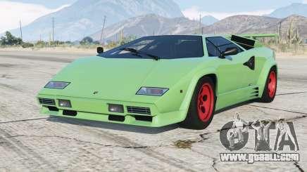 Lamborghini Countach LP5000 S Quattrovalvole 1985〡add-on v1.1 for GTA 5