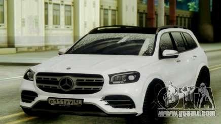 Mercedes-Benz GLS Snow for GTA San Andreas