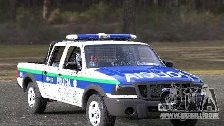 Ford Ranger 2008 Bonaerense Police for GTA San Andreas