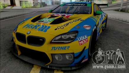 BMW M6 GT3 2018 (Turner Motorsport) for GTA San Andreas