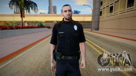 Policija Skin v2 for GTA San Andreas