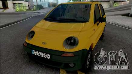 Daewoo Matiz (Romanian Plates) for GTA San Andreas