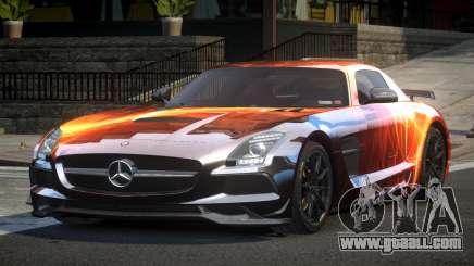 Mercedes-Benz SLS US S6 for GTA 4