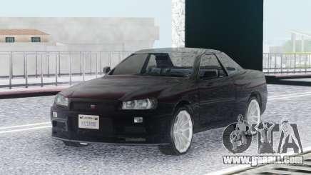 Nissan Skyline GT-R R34 LQ for GTA San Andreas