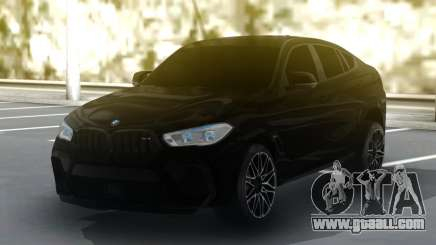 BMW X6M Competition 2020 for GTA San Andreas
