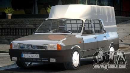 Dacia 1307 Pick-Up Cab for GTA 4