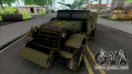 M3A1 Half-Track for GTA San Andreas