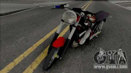 Yamaha RX-King Herex for GTA San Andreas