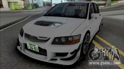 Mitsubishi Lancer Evo VII Voltex for GTA San Andreas