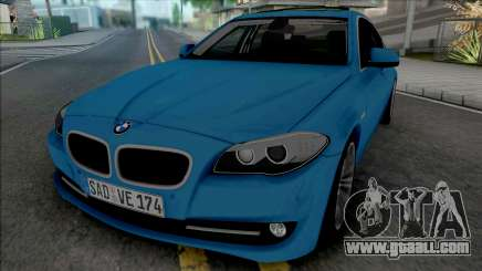 BMW 535i F10 2011 for GTA San Andreas