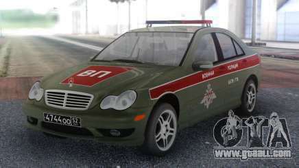 Mercedes-Benz C-class Military Police for GTA San Andreas