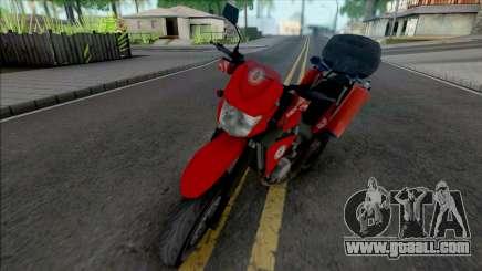 Yamaha XT600 CBMERJ (Improved) for GTA San Andreas