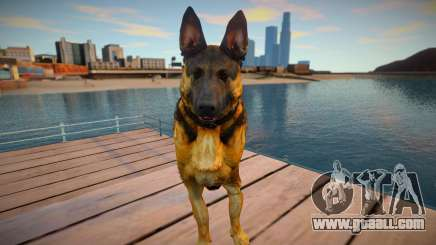 Riley the German shepherd dog from Call of Duty for GTA San Andreas