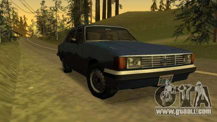 Chevrolet Opala Diplomat 1983 SA Style for GTA San Andreas