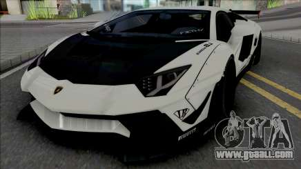 Lamborghini Aventador LP700-4 LB LE v2 for GTA San Andreas