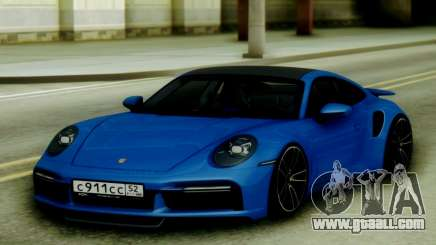 Porsche 911 Turbo S 21 for GTA San Andreas