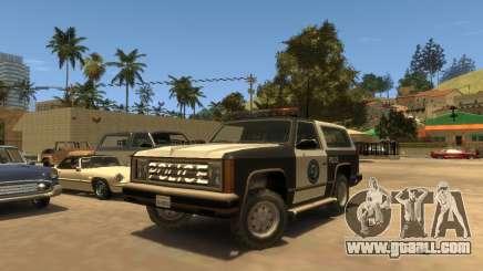 Police Rancher SA for GTA 4