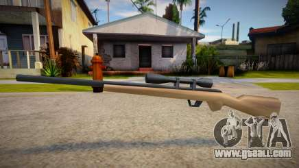 New Sniper Rifle (good textures) for GTA San Andreas