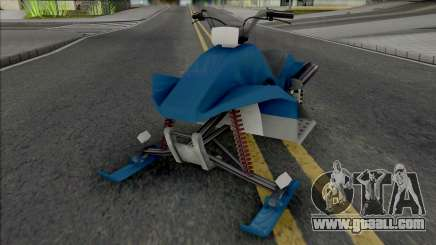 Snow Motorcycle for GTA San Andreas