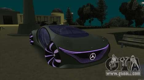 Mercedes-Benz Vision AVTR for GTA San Andreas