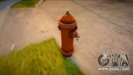 HQ Hydrant for GTA San Andreas