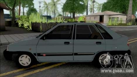 Saipa Pride 141 EX for GTA San Andreas